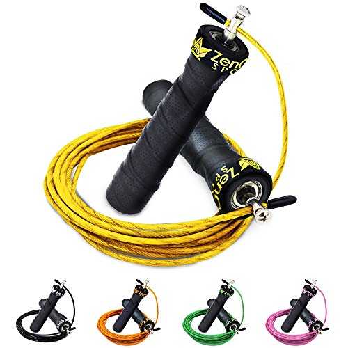 speed rope springseil sport mit gratis e book extra stahlseil tasche einstiegsguide rope. Black Bedroom Furniture Sets. Home Design Ideas