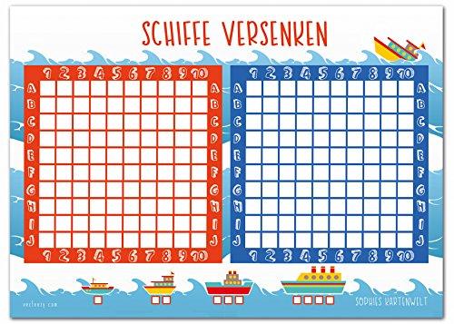 Schiffe Versenken Spielfeld