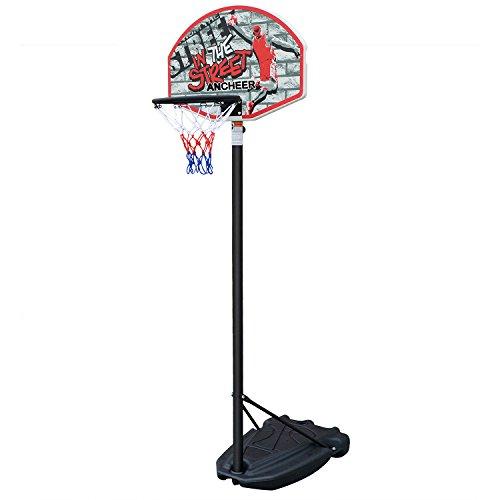 ancheer basketballkorb mobil basketballst nder f r kinder 140 190cm beliebte sportarten. Black Bedroom Furniture Sets. Home Design Ideas