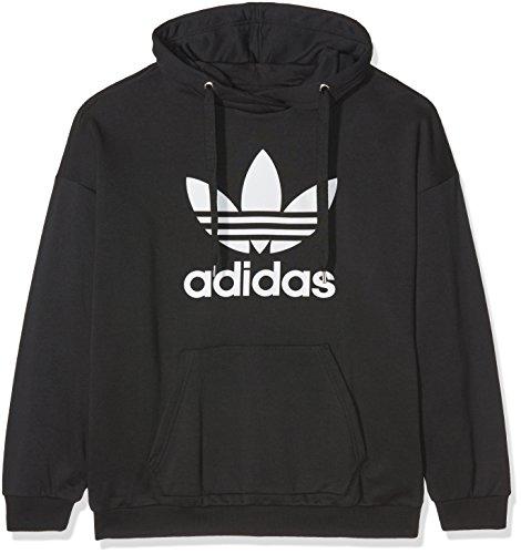 adidas Damen Essentials 3-Streifen Tights, Black/White, XL