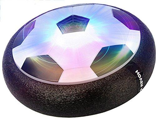 brigamo 60719 hoverball schwebender luftkissen indoor fu ball mit led beleuchtung und. Black Bedroom Furniture Sets. Home Design Ideas