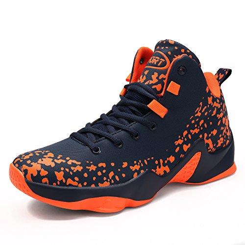 cheap for discount c3e59 e3732 ASHION Herren Basketball Schuhe Outdoorschuhe Basketballstiefel Sneaker  Sportschuhe