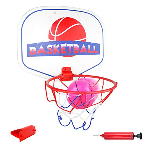 akokie mini basketballkorb korbanlagen transportabel mit basketball ballpumpe indoor b ro. Black Bedroom Furniture Sets. Home Design Ideas