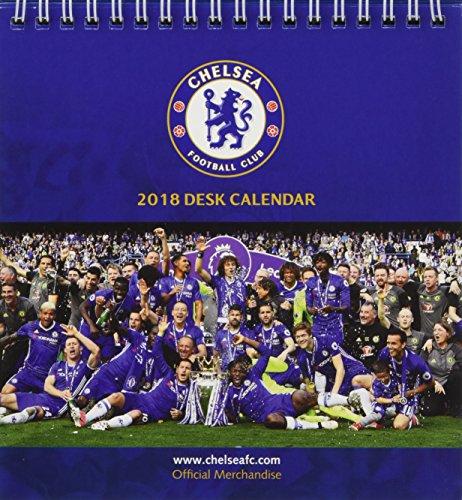 ac171de654a3b Chelsea F.C. Official Desk Easel 2018 Calendar - Month To View Desk Format  Desk Easel Calendar 2018