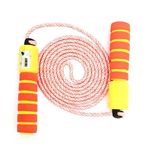 71a9360651b0f Sportplay Springseil Speed Rope mit Zähler Und Komfortablen   Anti-Rutsch  Griffen für Fitness und Boxen